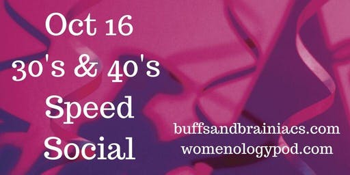 Speed Socializing - 30's & 40's Professionals