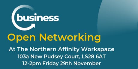 Open Networking at The Northern Affinity Workspace tickets