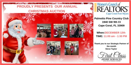 Christmas Auction & Luncheon - Women's Council of REALTORS Cape Coral-Fort Myers