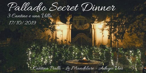 Palladio Secret Dinner @ Cappella della Rotonda 17.10.2019