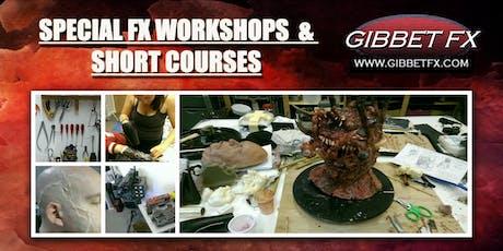 SFX WORKSHOP: INTRO TO HORROR & GORE MAKEUP FX tickets