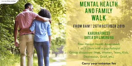 Family & Mental Health WALK tickets