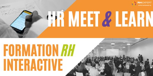 HR Meet & Learn - Formation Interactive - CEO & DRH