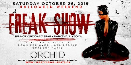 FREAK SHOW | LIFESTYLE SATURDAYS HALLOWEEN tickets