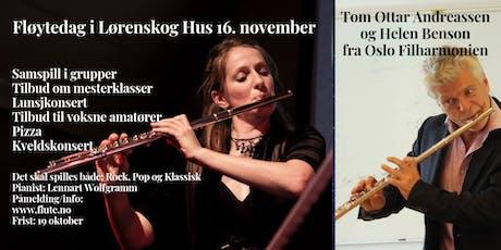 Fløytedag i Lørenskog Hus tickets