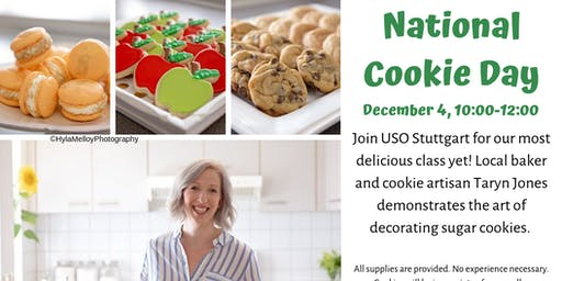 National  Cookie Day decorating session