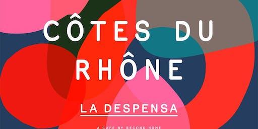 Côtes du Rhône Dinner & Natural Wine Pairing