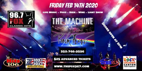 The Machine Live tickets