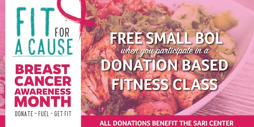 Free Bolay & Fit For A Cause with Annie Cooper!