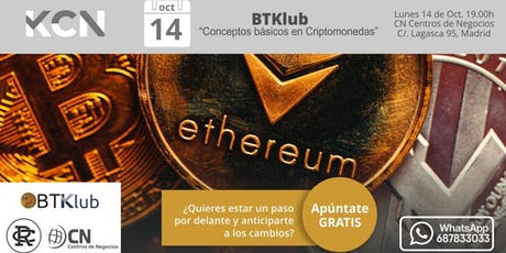 "BTKlub: ""Conceptos básicos en Criptomonedas"" entradas"