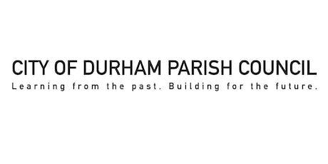City of Durham Parish Council anti-social behaviour conference tickets