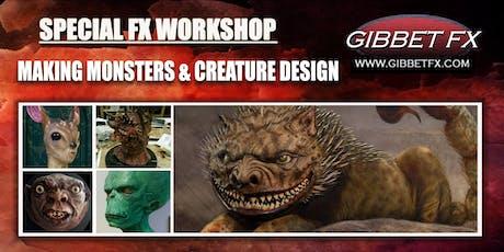 SFX WORKSHOP:   MAKING MONSTERS & CREATURE DESIGN  tickets