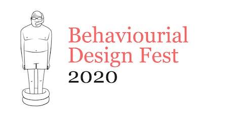 Behavioural Design Fest 2020 tickets