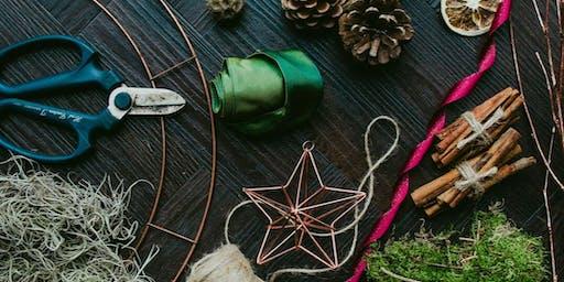 Traditional Foliage Christmas Wreath