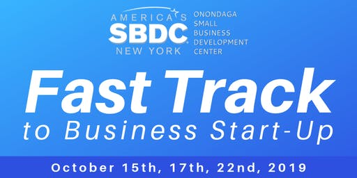 Fast Track to Business Start-Up Workshop - October 2019