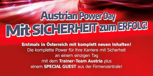 AUSTRIAN POWER DAY - Mit SICHERHEIT zum ERFOLG