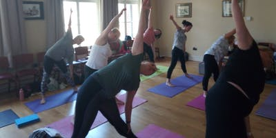 Yoga and Nordic Walking Event at Newbridge Memo