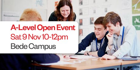 A-Level Open Event tickets