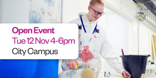 Sunderland College Open Event - City Campus 12th November