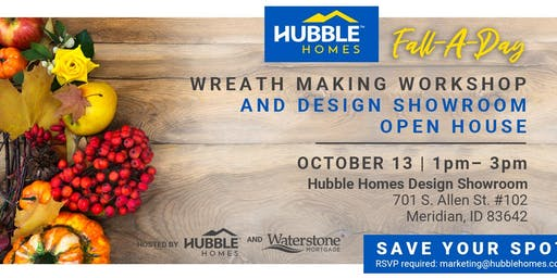Free Fall Wreath Making Event and Design Showroom Open House