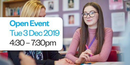 Hartlepool Sixth Form Open Event