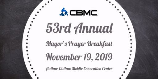 53rd Annual Mayor's Prayer Breakfast