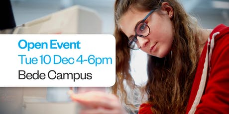 Sunderland College Open Event - Bede Campus 10th December  tickets