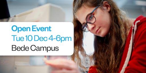 Sunderland College Open Event - Bede Campus 10th December