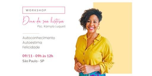 Workshop Dona da sua História