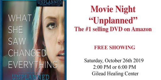 "Movie Night ""Unplanned"""