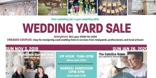 5th Annual NEWlyWED Wedding Yard Sale