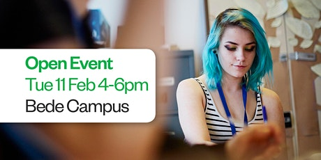 Sunderland College Open Event - Bede Campus 11th February   tickets