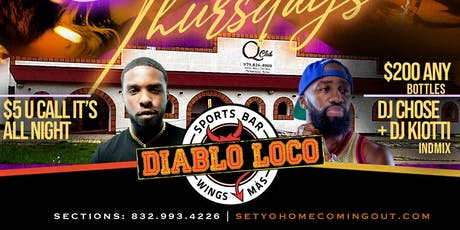10.17 | Return of QClub at Diablos Thursdays tickets