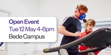 Sunderland College Open Event - Bede Campus 12th May	tickets