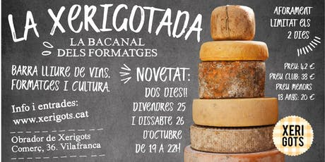 LA XERIGOTADA - la bacanal dels formatges entradas