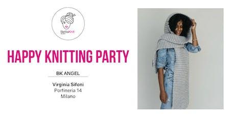 Knitting Party - Kara Scarf - MILANO biglietti