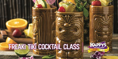 Freaki Tiki Cocktail Class with Rob Giuffrida tickets