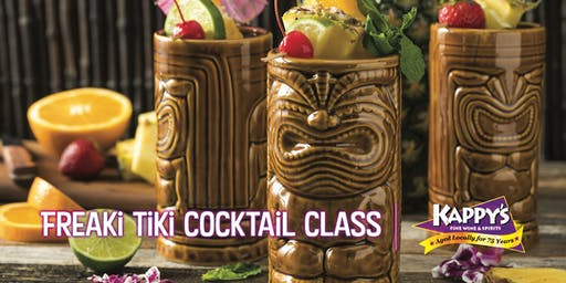 Freaki Tiki Cocktail Class with Rob Giuffrida