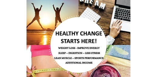 HEALTHY CHANGE STARTS HERE!