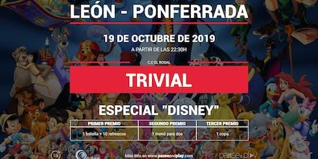 Trivial Especial Disney en Pause&Play El Rosal entradas