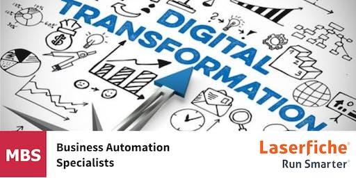 Digital Transformation for wealth managers workshop