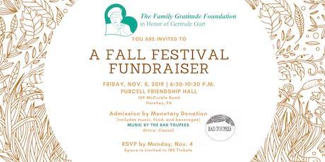 Fall Festival Fundraiser tickets