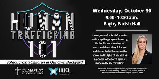 Human Trafficking 101: Safeguarding Children in Our Own Backyard