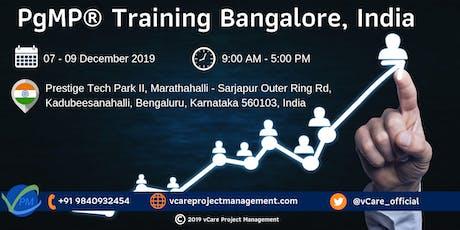 PgMP | Program Management Training | Bangalore | December | 2019 tickets