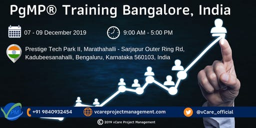 PgMP | Program Management Training | Bangalore | December | 2019