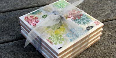 Craft Workshop: Decoupage Coasters