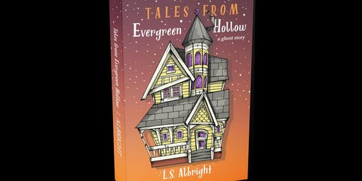 L.S. Albright's book launch for TALES FROM EVERGREEN HOLLOW