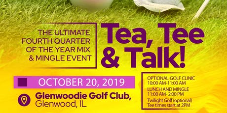 Tea, Tee and Talk tickets