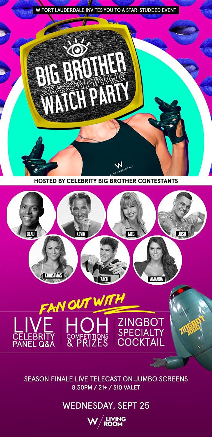 BIG BROTHER Season Finale Watch Party - Live Celebrity Q&A image