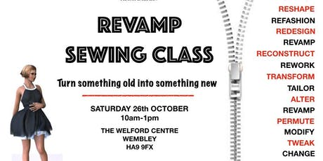 Revamp Sewing Class tickets